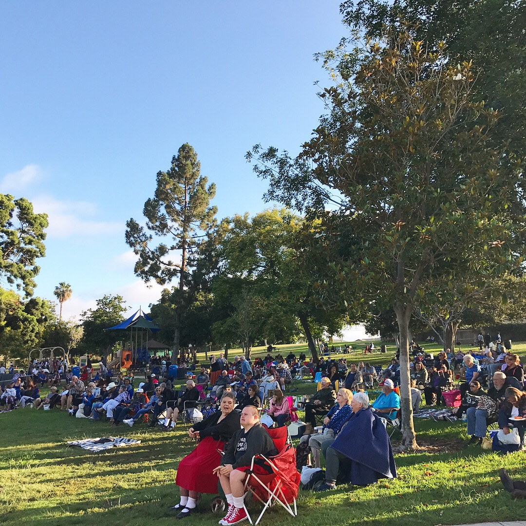 concerts in park